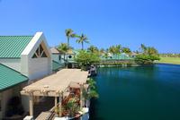 ハワイ島,ワイコロアの街並み 28021000680| 写真素材・ストックフォト・画像・イラスト素材|アマナイメージズ