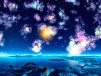 輝く宇宙 CG 28059000360| 写真素材・ストックフォト・画像・イラスト素材|アマナイメージズ