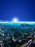 惑星の地形と空