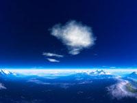 惑星の地形と空 28059000532| 写真素材・ストックフォト・画像・イラスト素材|アマナイメージズ