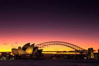 夕暮れのシドニー