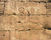 カルナック神殿のレリーフ
