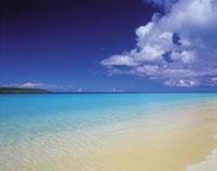 青い海と青空