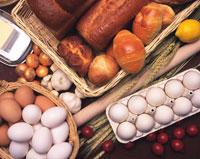 パン各種と食材