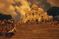 サクレクール寺院 28144083292| 写真素材・ストックフォト・画像・イラスト素材|アマナイメージズ
