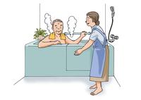 お風呂イメージ 28144084584| 写真素材・ストックフォト・画像・イラスト素材|アマナイメージズ