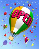 オープンイメージ(気球)