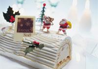 クリスマスケーキ 28144089713| 写真素材・ストックフォト・画像・イラスト素材|アマナイメージズ
