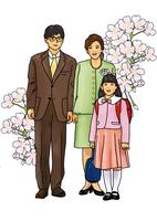 入学式 28144091924| 写真素材・ストックフォト・画像・イラスト素材|アマナイメージズ