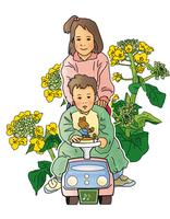 赤ちゃんと女の子