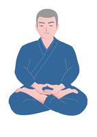 座禅をする僧侶 28144092289  写真素材・ストックフォト・画像・イラスト素材 アマナイメージズ