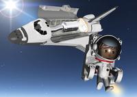 宇宙遊泳 28144092505| 写真素材・ストックフォト・画像・イラスト素材|アマナイメージズ