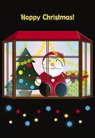 サンタクロースのクリスマスイメージ イラスト 28144095530| 写真素材・ストックフォト・画像・イラスト素材|アマナイメージズ