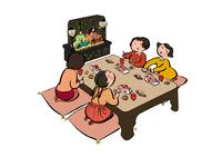 ひな祭り イラスト 28144095953| 写真素材・ストックフォト・画像・イラスト素材|アマナイメージズ