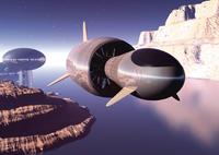 未来イメージのCGイメージ