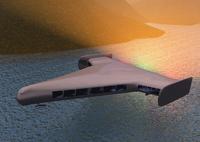 飛行機のCGイメージ