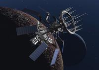 宇宙船のCGイメージ 28144096243| 写真素材・ストックフォト・画像・イラスト素材|アマナイメージズ