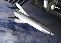 ロケットのCGイメージ