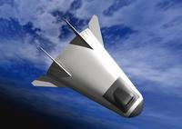 宇宙船のCGイメージ