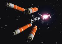 宇宙船のCGイメージ 28144096280| 写真素材・ストックフォト・画像・イラスト素材|アマナイメージズ