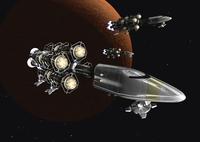 宇宙船のCGイメージ 28144096284| 写真素材・ストックフォト・画像・イラスト素材|アマナイメージズ