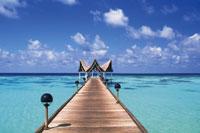 モルジブの海