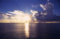バハマの夕陽