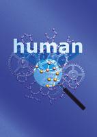 バイオテクノロジーのCGイメージ