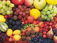 フルーツの集合