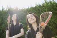 ラクロスをする女性 28174005583| 写真素材・ストックフォト・画像・イラスト素材|アマナイメージズ