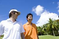 日本人男性ゴルファー