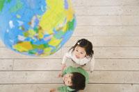 地球と子供