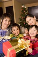 クリスマスプレゼントとファミリー