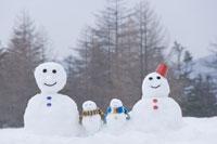 雪だるまファミリー