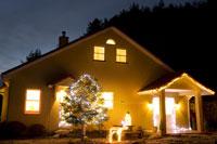 クリスマスデコレーションハウス