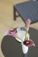 テーブル上の花