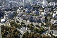 国会議事堂周辺の空撮 28203000046| 写真素材・ストックフォト・画像・イラスト素材|アマナイメージズ