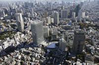 赤坂周辺の空撮 28203000611| 写真素材・ストックフォト・画像・イラスト素材|アマナイメージズ