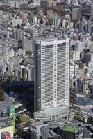 東京ドームシティ周辺の空撮