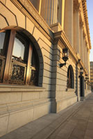 丸の内の明治生命館周辺 29000000029| 写真素材・ストックフォト・画像・イラスト素材|アマナイメージズ