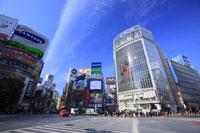 渋谷駅ハチ公口駅前スクランブル交差点周辺
