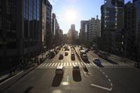 青山通りから渋谷方面