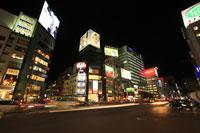 表参道交差点付近の夜景