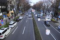 表参道の街並み