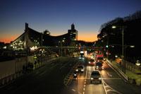 国立代々木競技場周辺の夜景