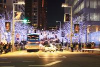 六本木のクリスマスイルミネーション