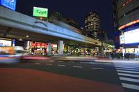 六本木交差点の夜景