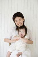お母さんと赤ちゃんのポートレート