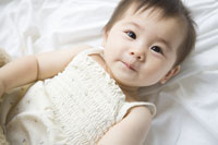 赤ちゃんのポートレート
