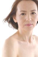 40代日本人女性のビューティーイメージ